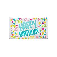 Partybanner Happy Birthday