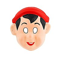 Pinocchio Kindermaske aus Kunststoff