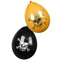 Piraten Luftballons 6 Stück