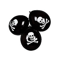 Piratenflagge Luftballons 6 Stück
