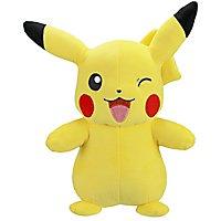 Pokémon - Plüschfigur zwinkerndes Pikachu