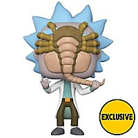 Rick and Morty - Rick mit Facehugger Funko POP! Figur (Exclusive)