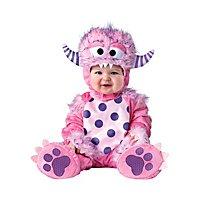 Rosa Monster Babykostüm