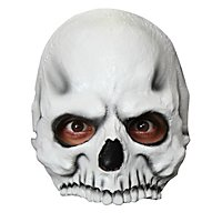 Schädel Halbmaske für Kinder