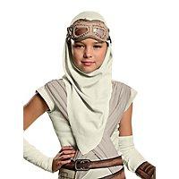 Star Wars 7 Rey Maske und Kapuze für Kinder
