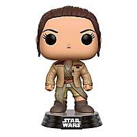 Star Wars - Rey mit Finn's Jacke Wackelkopf-Figur aus Episode VII