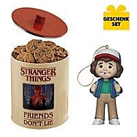 Stranger Things - Geschenk-Set aus Keksdose & Anhängerfigur