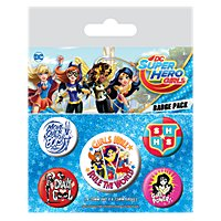 Super Hero Girls - Ansteck-Buttons Girls Will Rule The World