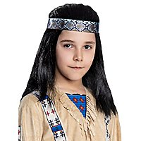 Winnetou Perücke für Kinder