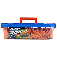 X-Shot - Excel Ultimate Value 200 Darts Refill Pack with Carrycase