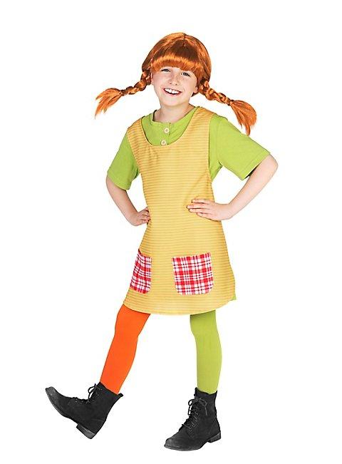 Pippi Langstrumpf Kinderkostüm Vorderansicht