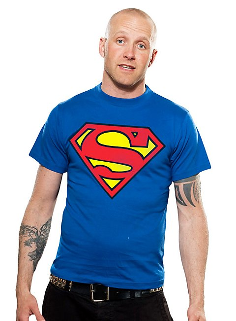 superman t shirt superhelden shirt jetzt kaufen. Black Bedroom Furniture Sets. Home Design Ideas