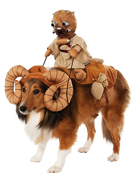 bantha with tusken raider star wars dog costume. Black Bedroom Furniture Sets. Home Design Ideas