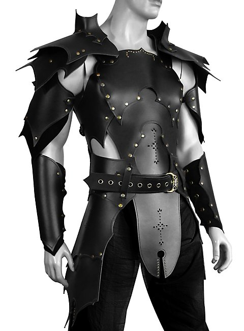 Black Tyrant Leather Armor
