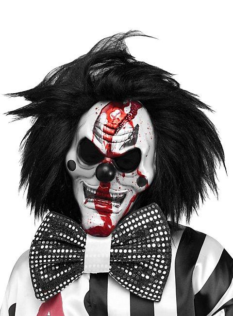 Blutende Horrorclown Maske
