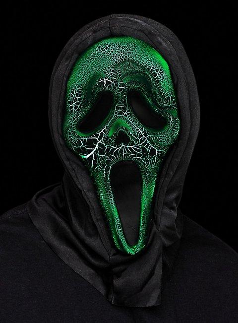 Burning Ghostface Scream Mask Maskworld Com
