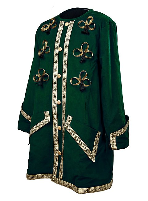 Captain Coat green