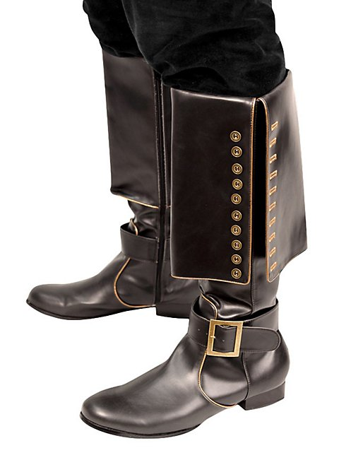 Cavalry Leather Boots black