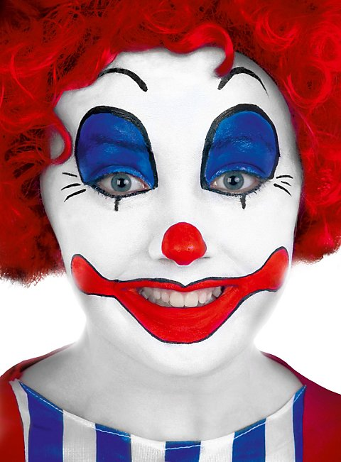 Clown Creme Make Up Schminkdose Maskworldcom
