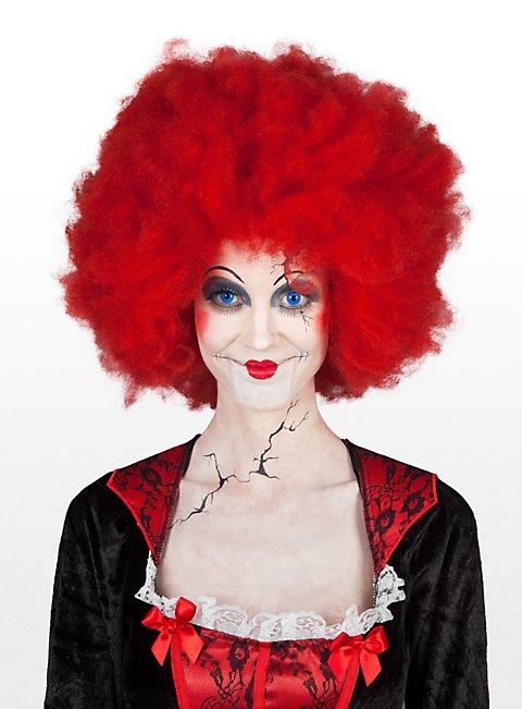 Cincinnati reds costume wig