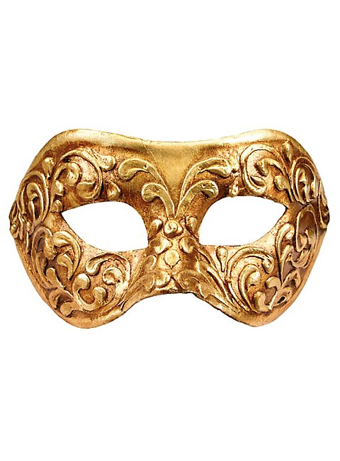Colombina stucco oro - Venezianische Maske