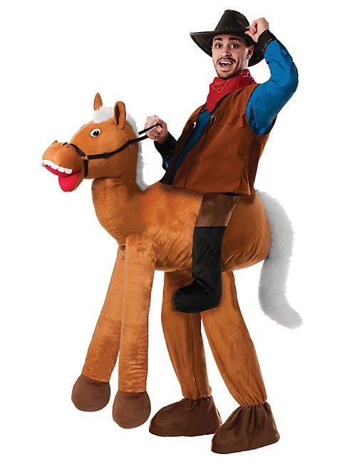 cowboy mit pferd reiterkost m. Black Bedroom Furniture Sets. Home Design Ideas