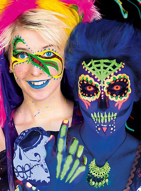 Creme Make-up UV-Farben Schminkdose