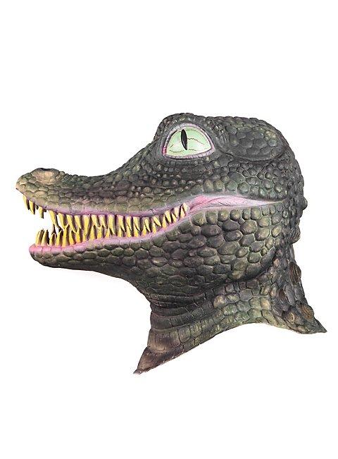how to make a crocodile mask for kids