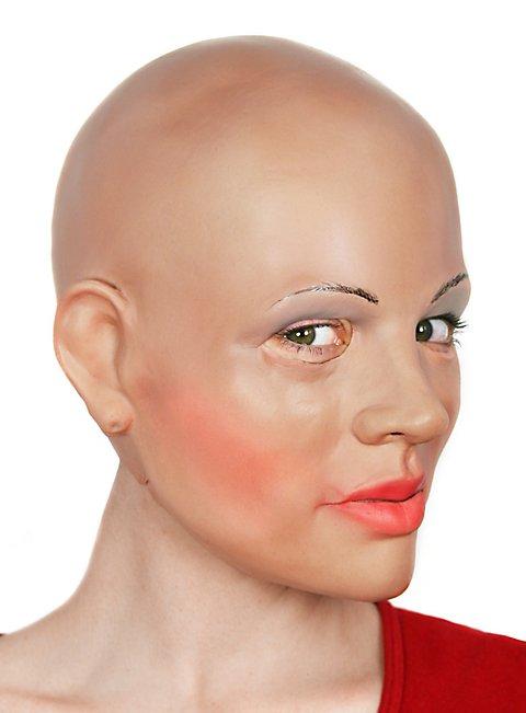 Diva Maske aus Schaumlatex