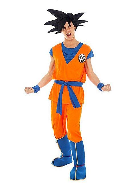 Coolchange 3 Teiliges Kostum Von Son Goku Beim Herr Der Schildkroten Grosse S Amazon De Spielzeug