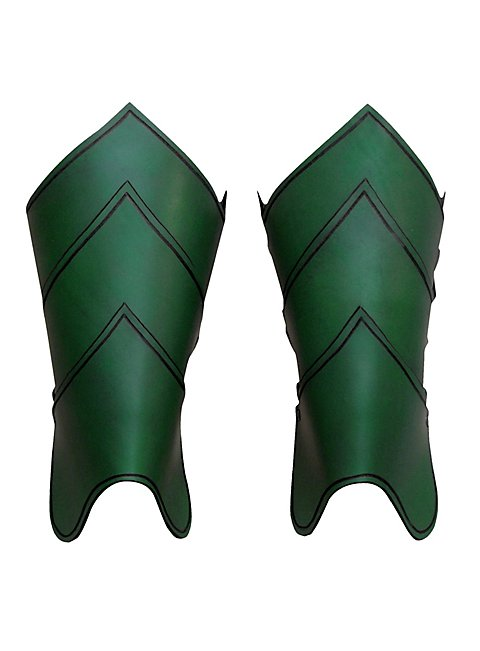 Dragonrider Greaves green