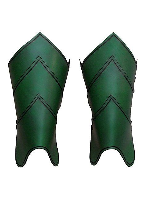 Dragonrider Greaves green