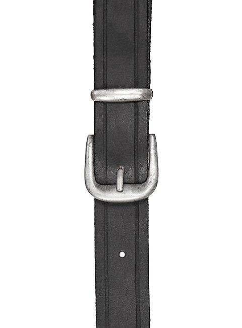 Einfacher Rückenschwerthalter Schnalle schwarz