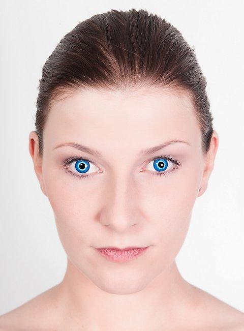 Blaue Kontaktlinsen Motiv Elf