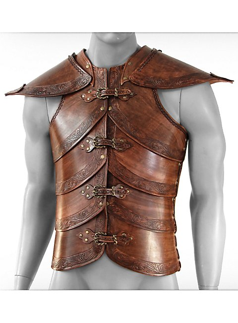 how to make boob part leather armor