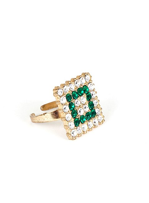 emerald ring square maskworld