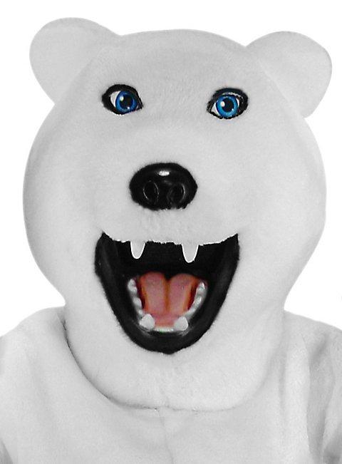 Erich der Eisbär Maskottchen