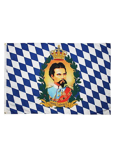 Fahne k nig ludwig for Bayerische dekoartikel