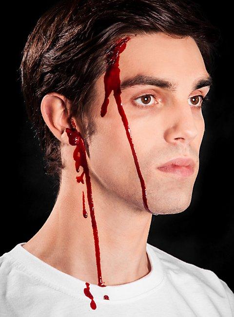 Flasche Blut Make-Up