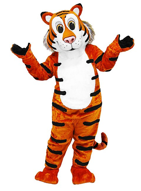 Friendly Tiger Mascot