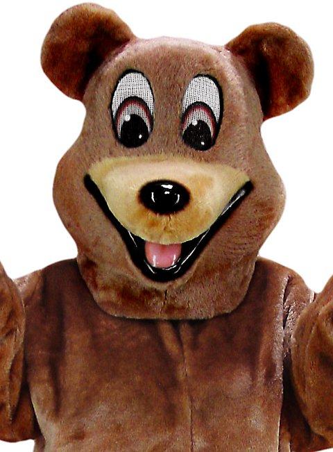 Fröhlicher Bär Maskottchen