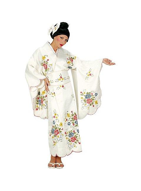 Geisha White Costume