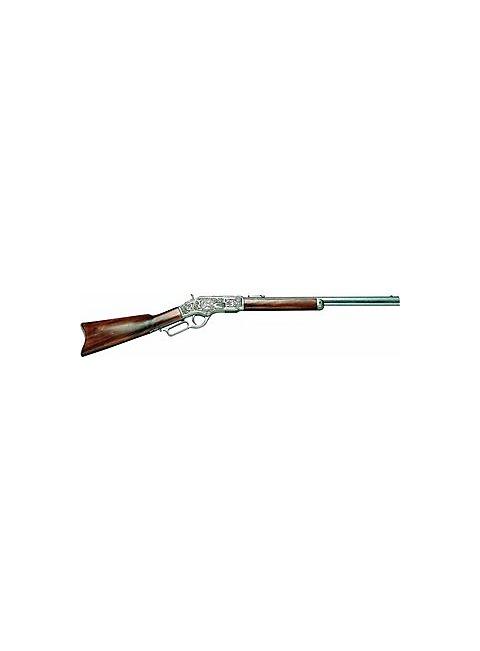 """Gewehr """"Winchester"""" silbern graviert Dekowaffe"""