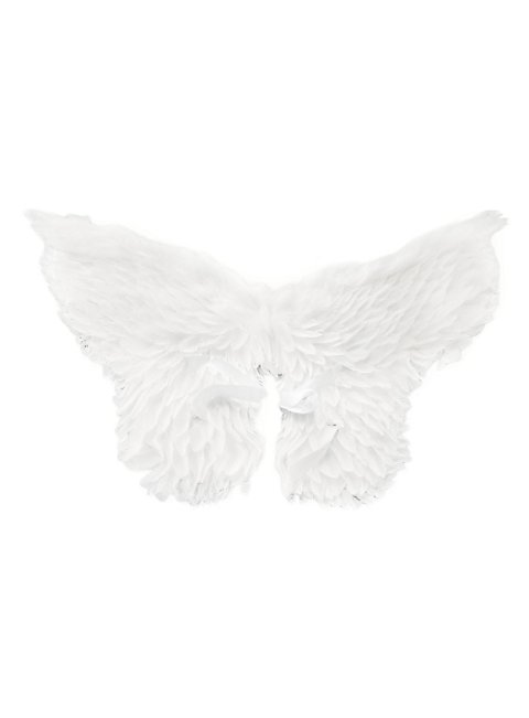 Gro e wei e engelsfl gel for Weisse dekoartikel