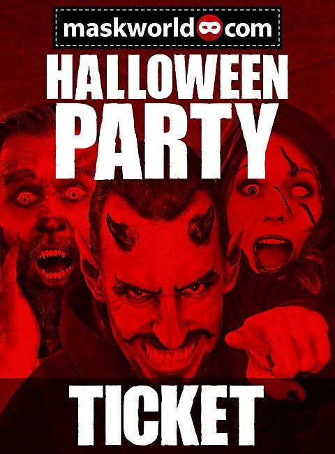 Halloween Party Ticket Berlin 2017