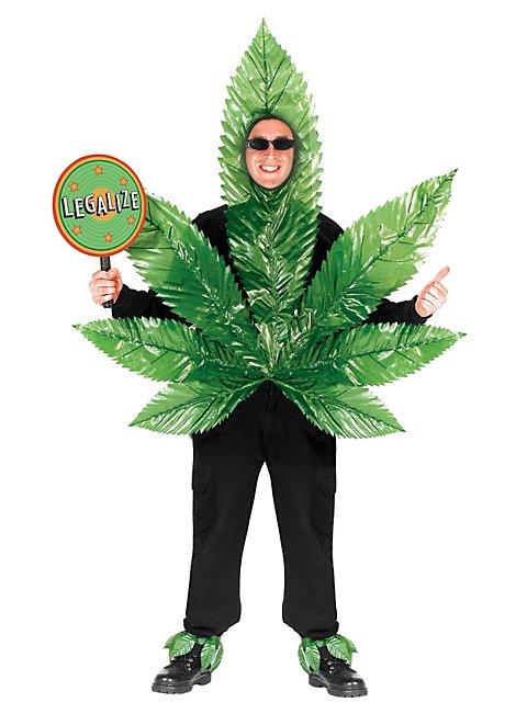 Hanfblatt Kostüm