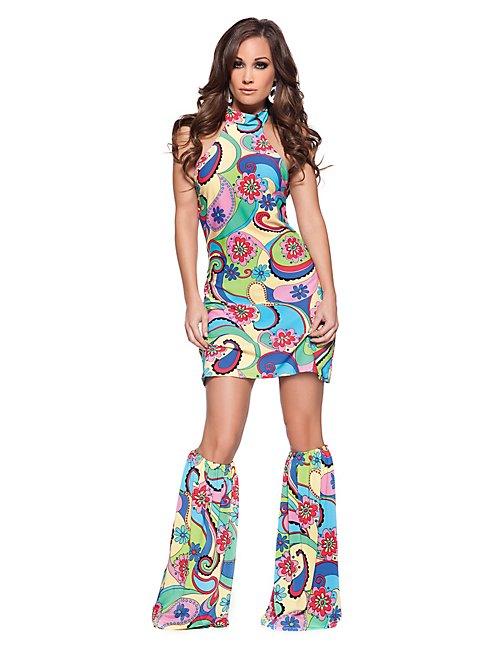Hot Hippie Kostüm
