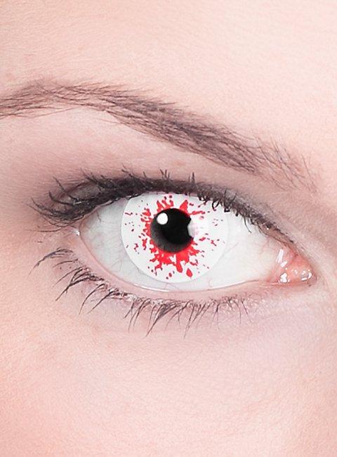 Infizierter Kontaktlinsen