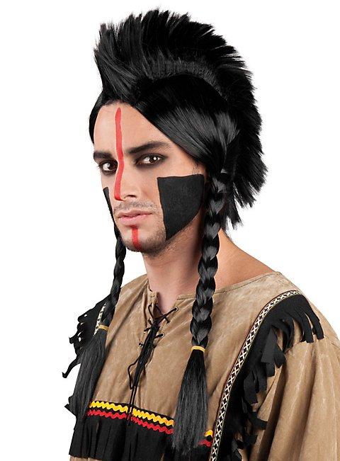 Irokesen Indianer Perücke