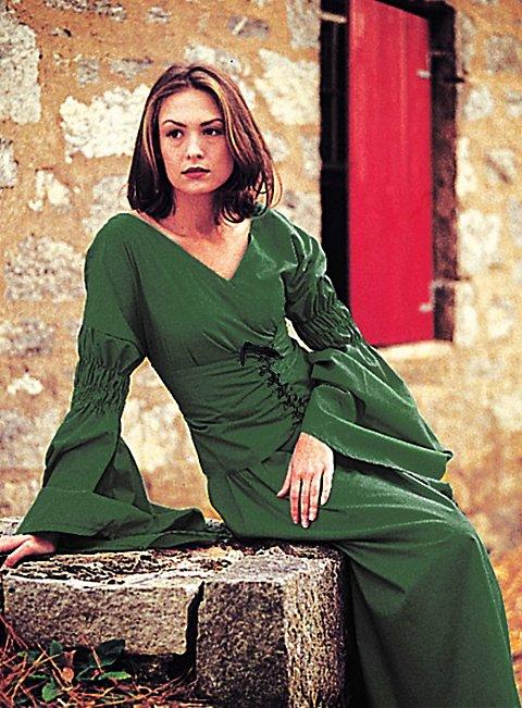 jungfer grün kostüm